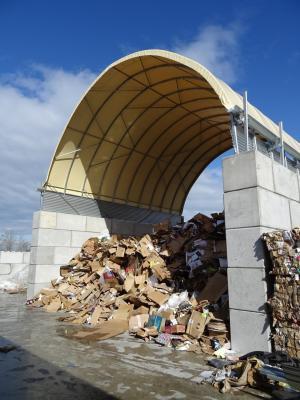 Case pour stockage carton